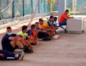 اختبارات القدرات للقبول بكلية التربية الرياضية جامعة أسوان.. لايف
