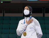 استعدادات مطار القاهرة لاستقبال أبطال مصر فى الأولمبياد فريال أشرف وأحمد الجندى