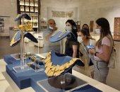 الوفد الإعلامى الروسى يزور متحف الحضارة بالفسطاط.. صور