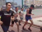 اختبارات رياضية ومهارات لطلاب الثانوية العامة بكلية التربية الرياضية بكفر الشيخ.. لايف