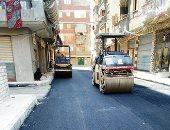 محافظ الإسكندرية: 92% نسبة إنجاز أعمال تطوير عزبة محسن..فيديو وصور