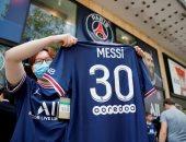 باريس سان جيرمان يحصل على 156 مليون دولار مبيعات قميص ميسي فى 24 ساعة
