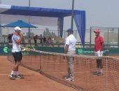 منتخب التنس يواجه موزمبيق على بطاقة التأهل للمباراة الفاصلة