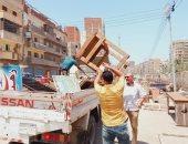 تحرير 21 محضر عدم ارتداء كمامة ومصادرة شيش ورفع 579 حالة إشغال بالبحيرة..صور