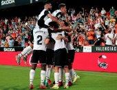 """برشلونة ضد فالنسيا.. البارسا يتأخر مبكرا بالهدف الأول فى الدقيقة 5 """"فيديو"""""""