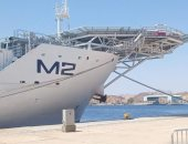وصول اليخت السياحى A1 والسفينة M2 ضمن سرب اليخوت الإمارتية لشرم الشيخ.. صور