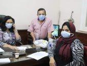 الفريق الطائر للتطعيم ضد كورونا بالفيوم يستأنف عمله.. صور