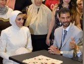شاهد.. لحظة عقد قران جيانا فاروق بطلة الكاراتيه وصاحبة إنجاز الأولمبياد