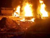 """ليلة حزينة فى لبنان.. تفاصيل انفجار """"عكار"""" وسقوط عشرات الضحايا (فيديو)"""
