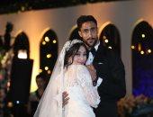 الصور الأولى من حفل زفاف أحمد علاء لاعب الطلائع بحضور شقيقه مدافع الزمالك