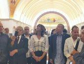 """ممثلو الكيانات المصرية بالخارج يرددون """"تحيا مصر"""" من داخل العاصمة الإدارية"""
