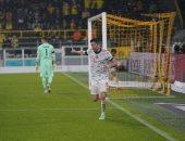ليفاندوفسكى يضرب دورتموند بالهدف الثالث فى كأس السوبر الألمانى.. فيديو
