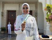 جيانا فاروق بعد تكريم الرئيس: التكريم الثالث والأغلى على الاطلاق