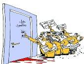 كاريكاتير اليوم.. الحرائق تلتهم غابات العالم