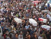 اللبنانيون يشيعون جثامين ضحايا انفجار عكار وسط غضب شعبى