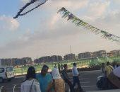 طائرات ورقية وفنون شعبية فى مهرجان العلمين الرياضى ..فيديو وصور
