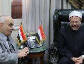 رئيس هيئة قضايا الدولة يزور مفتى الديار المصرية لتهنئته بتجديد الثقة.. صور