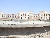 مسئولو الإسكان يتفقدون أعمال التشطيبات بالحى السكنى الخامس بالعاصمة الإدارية