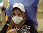 متبرعة ببلازما الدم فى طنطا: أجريت فحوصات شاملة وسعدت بالإقبال الكبير ..لايف