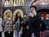 الكنيسة الأرثوذكسية تكرم الأولى على الثانوية مكفوفين بقطاع كنائس عزبة النخل