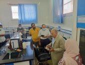 رئيس مياه القليوبية يجرى جولة تفتيشية بـ3 محطات كبرى ويتابع معامل فحص العينات