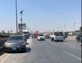 تحويلات مرورية بسبب تركيب كمر معدنى لكوبرى أعلى الدائرى للمتجه لمحور طه حسين