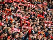 ليفربول ضد بيرنلي.. جماهير الريدز تشعل أنفيلد بعد غياب طويل