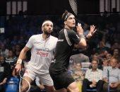محمد الشوربجي يودع بطولة بريطانيا للاسكواش من نصف النهائي