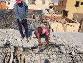 إزالة فورية لـ3 مخالفات بناء والتحفظ على الأدوات المستخدمة بمدينة الشروق