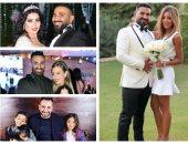 آخرهن علياء بسيونى.. 4 زيجات فى حياة المطرب أحمد سعد