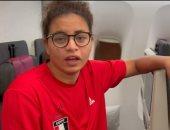 السباحة البارالمبية ملك عبد الشافى تطالب بالدعاء للبعثة فى طوكيو.. فيديو