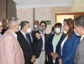 وزيرة الثقافة ومحافظ دمياط يدشنان مشروع تطوير قصر الثقافة