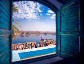 معرض فني بقصر البارون امبان على ضفاف النيل.. صور