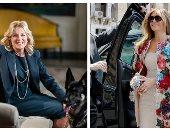 جيل بايدن VS ميلانيا ترامب.. ملابس عملية ورسائل موجهة فى أزياء السيدة الأولى