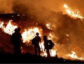 دمار شامل.. حرائق كاليفورنيا تتجدد وتبث الرعب فى نفوس الأمريكان.. ألبوم صور