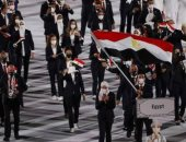 هشام صلاح يحمل علم مصر في افتتاح بارالمبياد بطوكيو