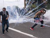 احتجاجات فى بورتلاند الأمريكية تشهد اشتباكات وإطلاق نار.. فيديو وصور