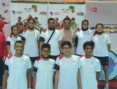 منتخب ناشئى وناشئات مصر أبطال إفريقيا للريشة الطائرة تحت 15 سنة