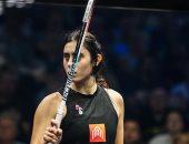 نور الشربينى تكشف المزيد من صور مباراتها النهائية فى بطولة بريطانيا المفتوحة للاسكواش