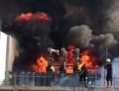السيطرة على حريق محدود بمحطة المحولات الكهربائية بميناء شرق بورسعيد