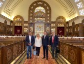 العاصمة الإدارية تستقبل وفدا رفيع المستوى من صربيا ويشيد بنسبة الإنجازات