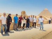 وفد إعلامى عربى يزور عددا من الأماكن السياحية والأثرية فى مصر.. صور