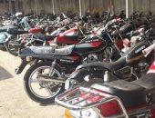 الداخلية تشن حملة لضبط سائقى الدراجات النارية غير الملتزمين بارتداء الخوذة