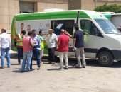 الفرق المتنقلة.. تجوب محافظة الغربية لتسريع تطعيم المواطنين بلقاح كورونا