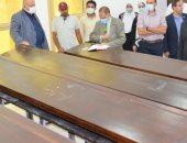 لجنة ثلاثية من الأعلى للجامعات تراجع مدى استعداد جامعة العريش لافتتاح كلية طب
