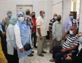 محافظ القاهرة يوجه بتطعيم جميع الموظفين بالعاصمة وذويهم