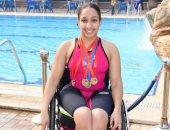 آية أيمن تفقد فرصتها فى التأهل لنهائيات السباحة فى بارلمبياد طوكيو