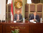 رئيس اقتصادية قناة السويس يلتقى 40 سفيرا للبعثات الخارجية المصرية الجدد