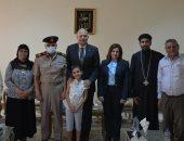 نائبة مجلس الشيوخ عن تنسيقية شباب الأحزاب تزور صندوق تكريم الشهداء