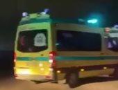 إصابة 3 أشخاص فى حادث انقلاب سيارة ربع نقل بالطريق الزراعى بأسوان